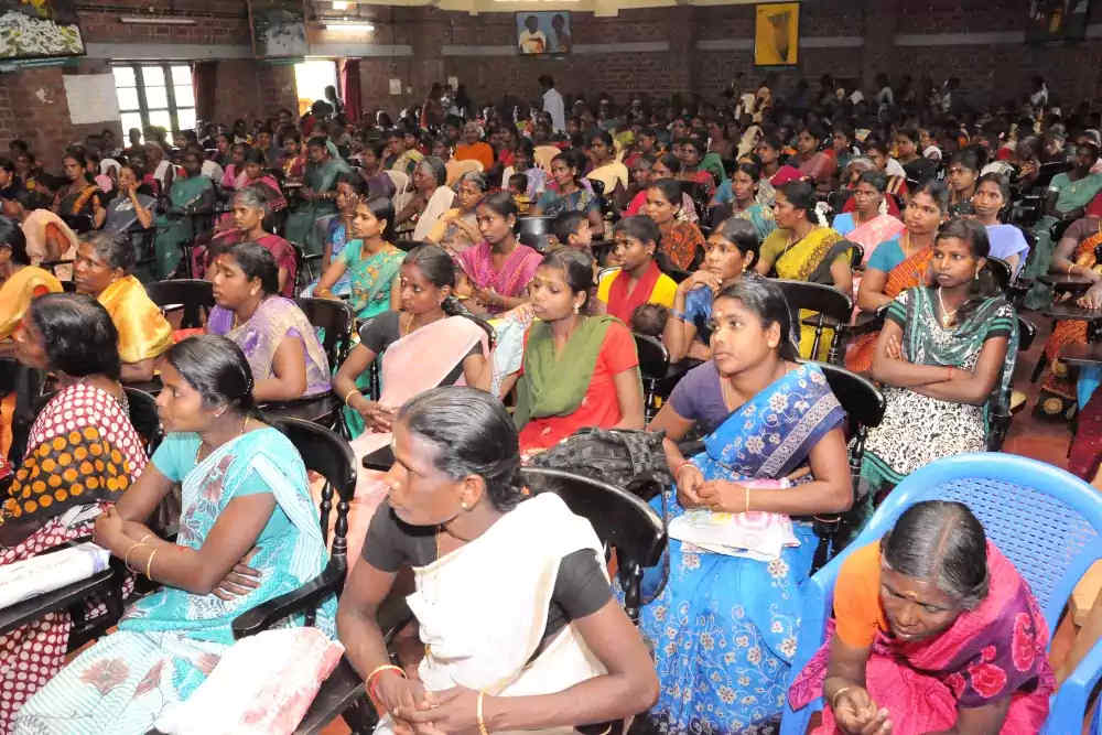 Women Self Help Group members at training programme BANNER