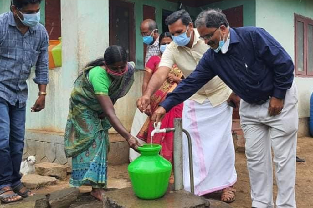keerippathi drinking water project inaugurated